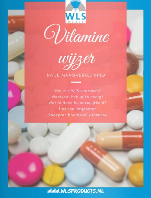 maagverkleining vitaminewijzer