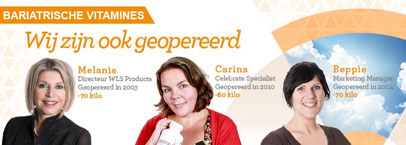 Melanie, Carina en Beppie van WLS Products